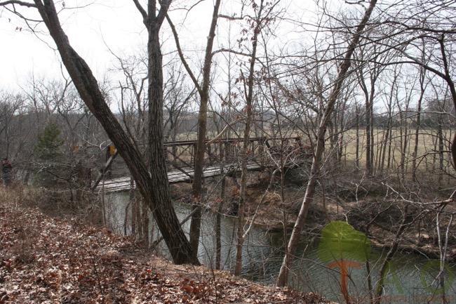 Old Bridges and Even Older Petroglyphs of Missouri