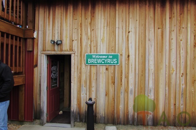 entrance to Piney River Brewing Company