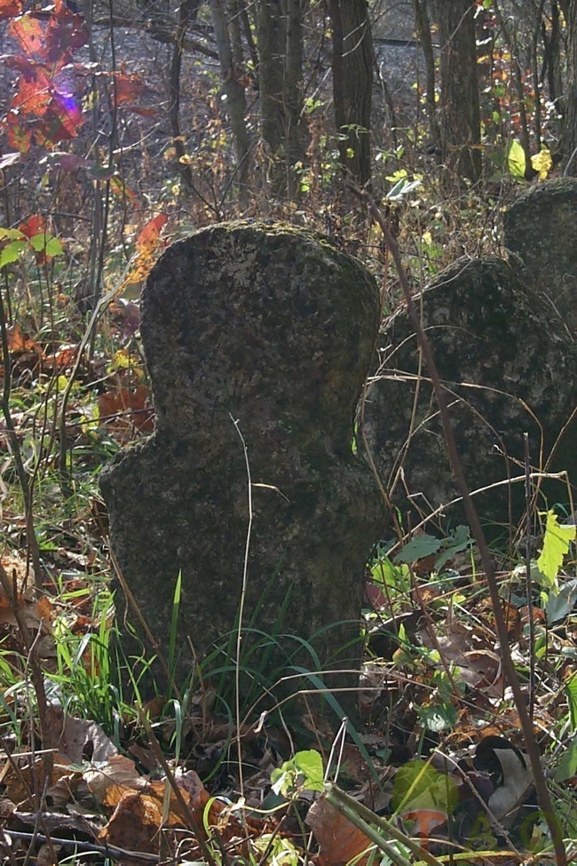 Humanoid singlet in cemetery Newburg, MO