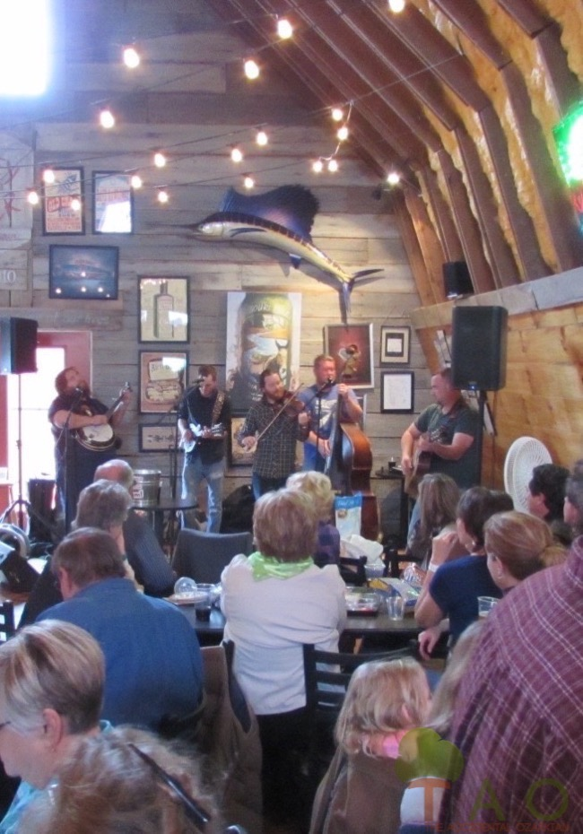 Deep Fried Squirrel bluegrass band at Piney River Brewing Company