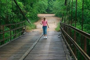 Swinging Bridge Missouri