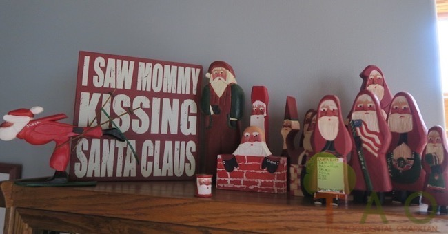 My collection of Kinsey Santa art.