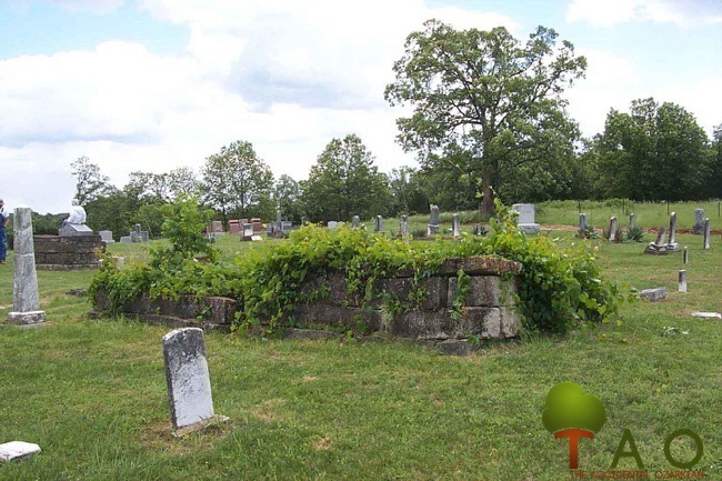 limestone rocks in Red Cemetery