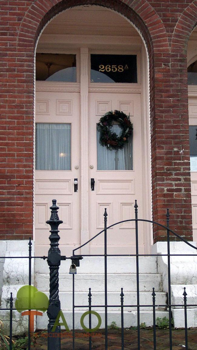 Scott Joplin house in St. Louis. (Barbara Baird photo) historical Christmas