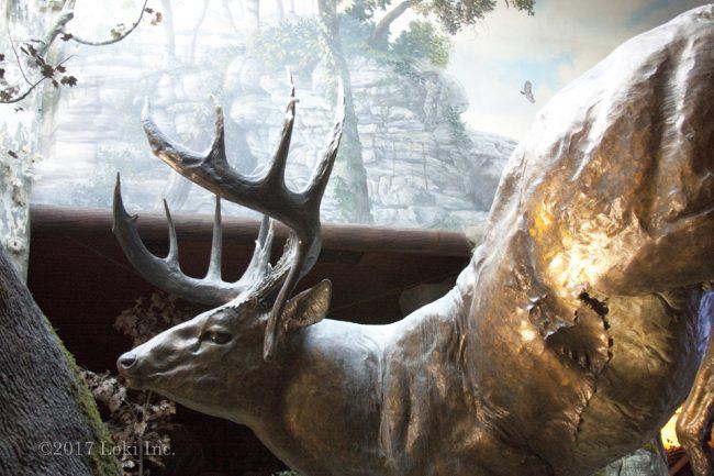 entrance bronze elk WOW
