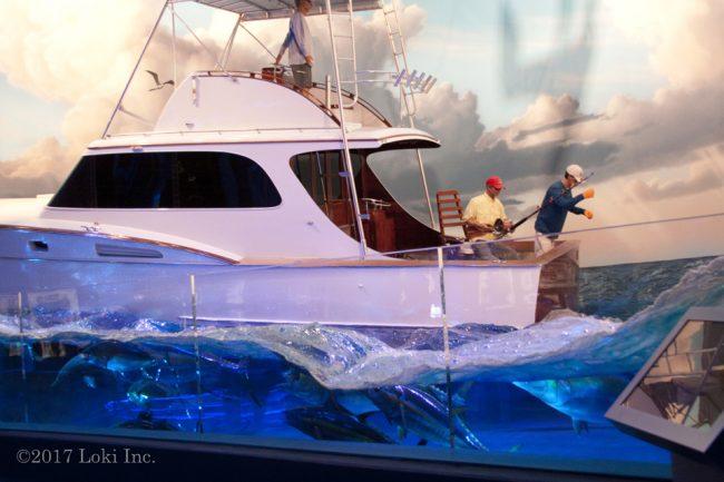 Johnny Morris tuna boat at WOW