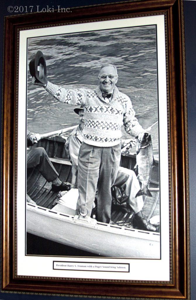 Harry Truman fishing boat WOW