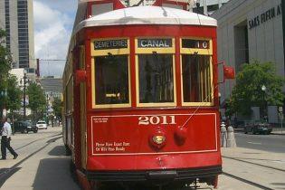 Canal Streetcar close up