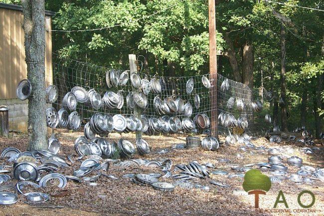 Hubcaps on ground Arkansas