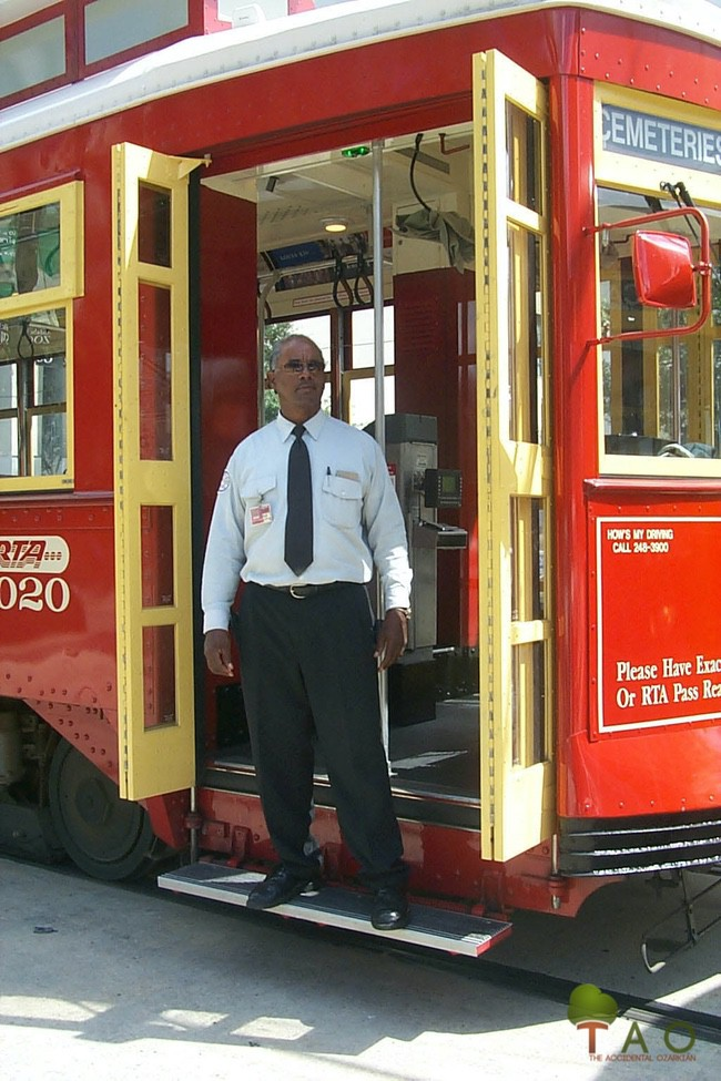 Melvin Henderson Canal Streetcar driver