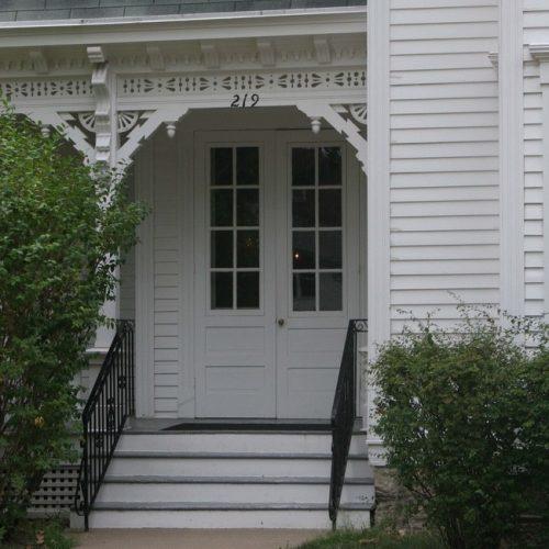 front door Truman house