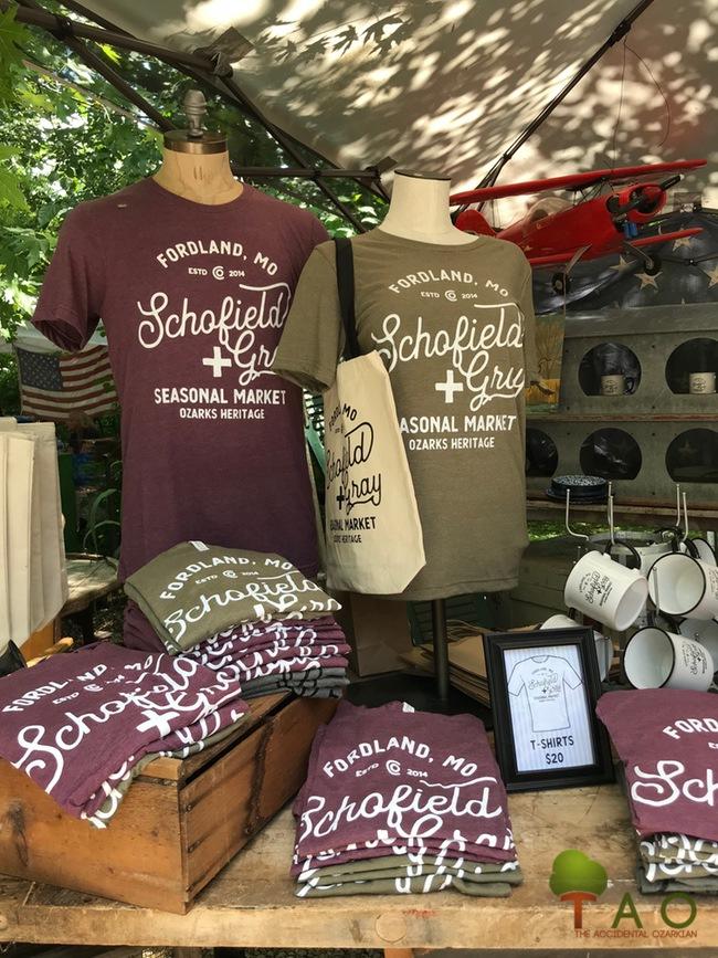 schofield + Gray tee shirts