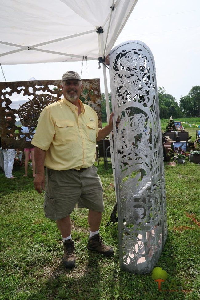 Bob Parker metal worker