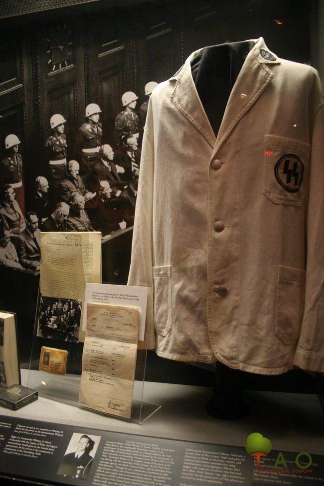 SS doctor jacket Dachau