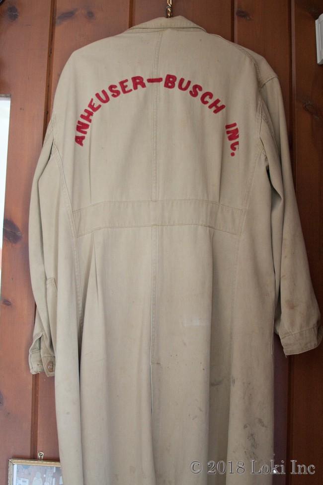 Anheuser busch coat