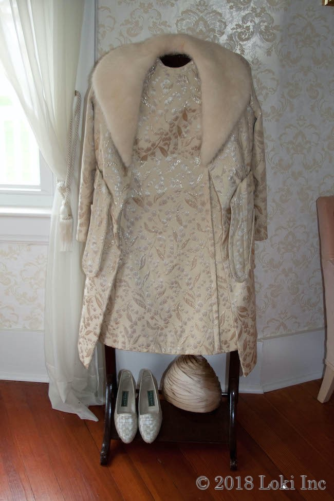 Mabel-Ruth Anheuser dress and jacket