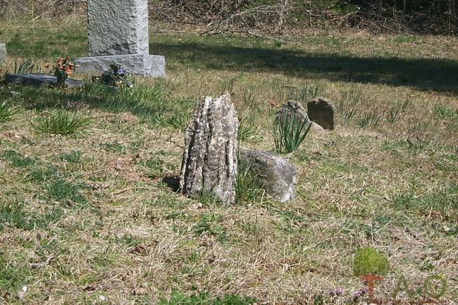 stalactite tombstones