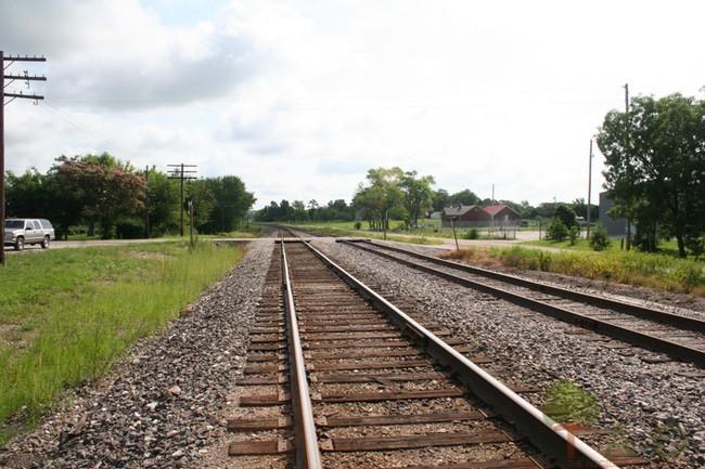 train tracks Rosati
