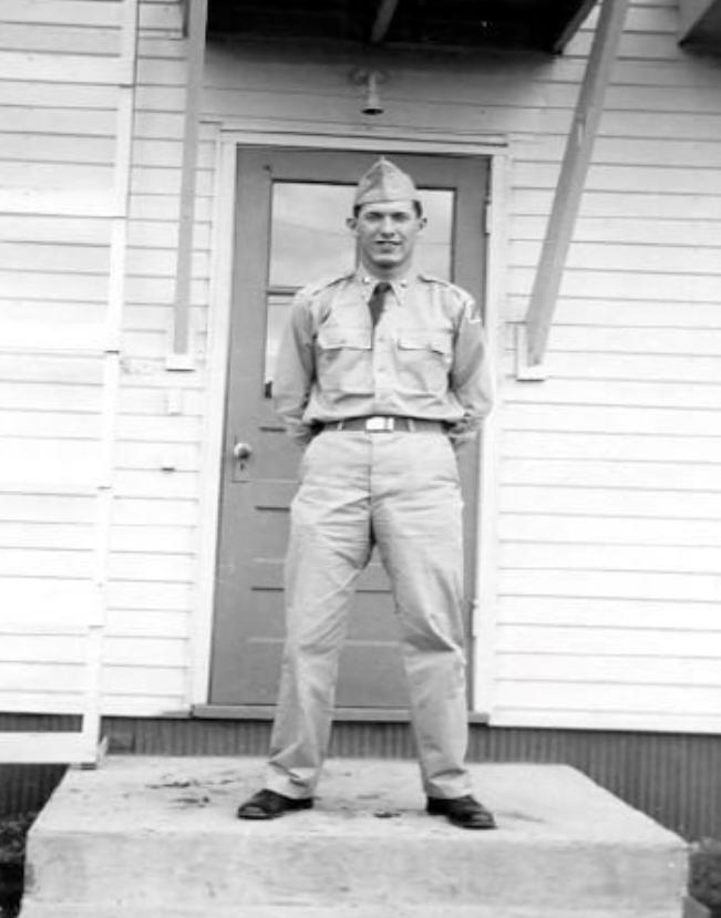 Richard Bullock Army career