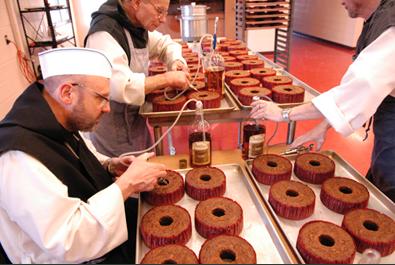 Assumption Abbey fruitcake