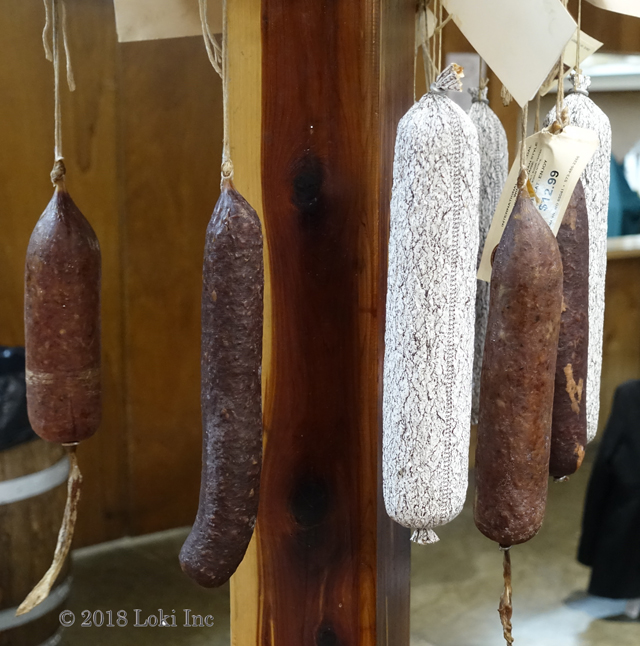 Hermann Wurst haus sausages