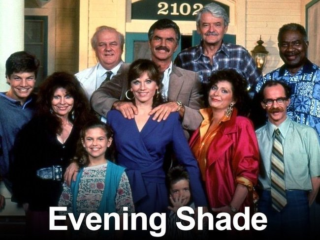 Evening Shade cast