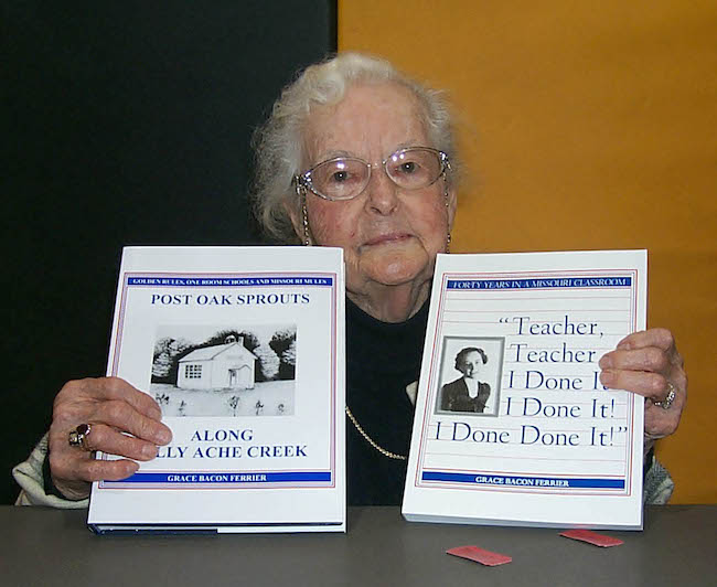 Author Grace Bacon Ferrier and Life in the Ozarks