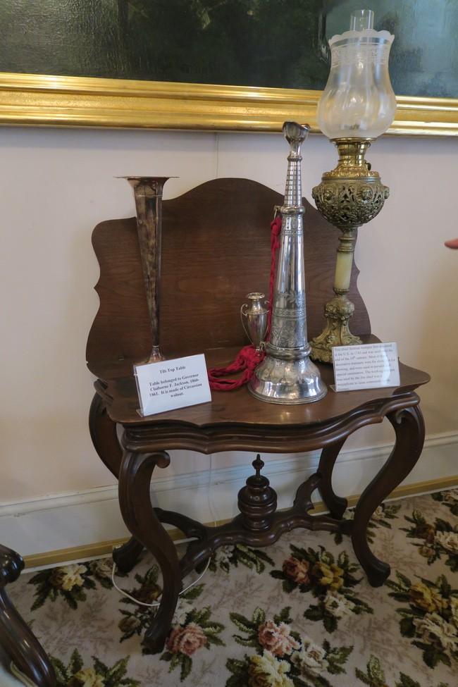 Cole County Historical Society Museum Caliborne Jackson table