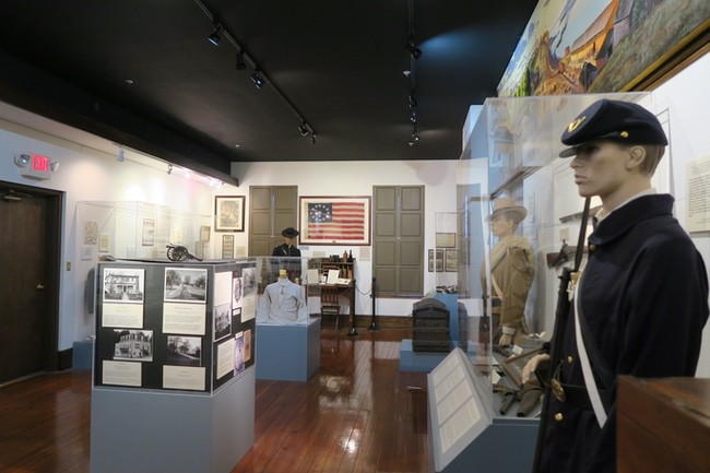 Cole County Historical Society Museum Civil War Room
