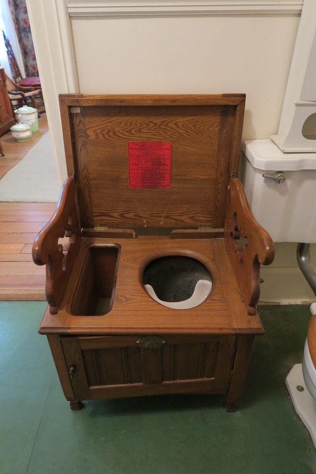 Cole County Historical Society Museum Price Bedroom potty chair