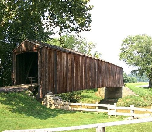 Burfordville Covered Bridge MO