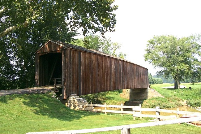Burfordville Covered Bridge MO