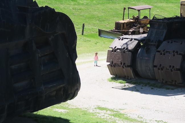 Little girl big brutus