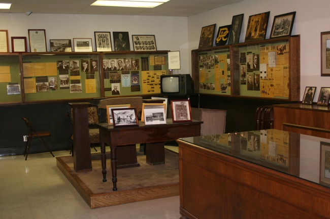 JC Penney museum interior