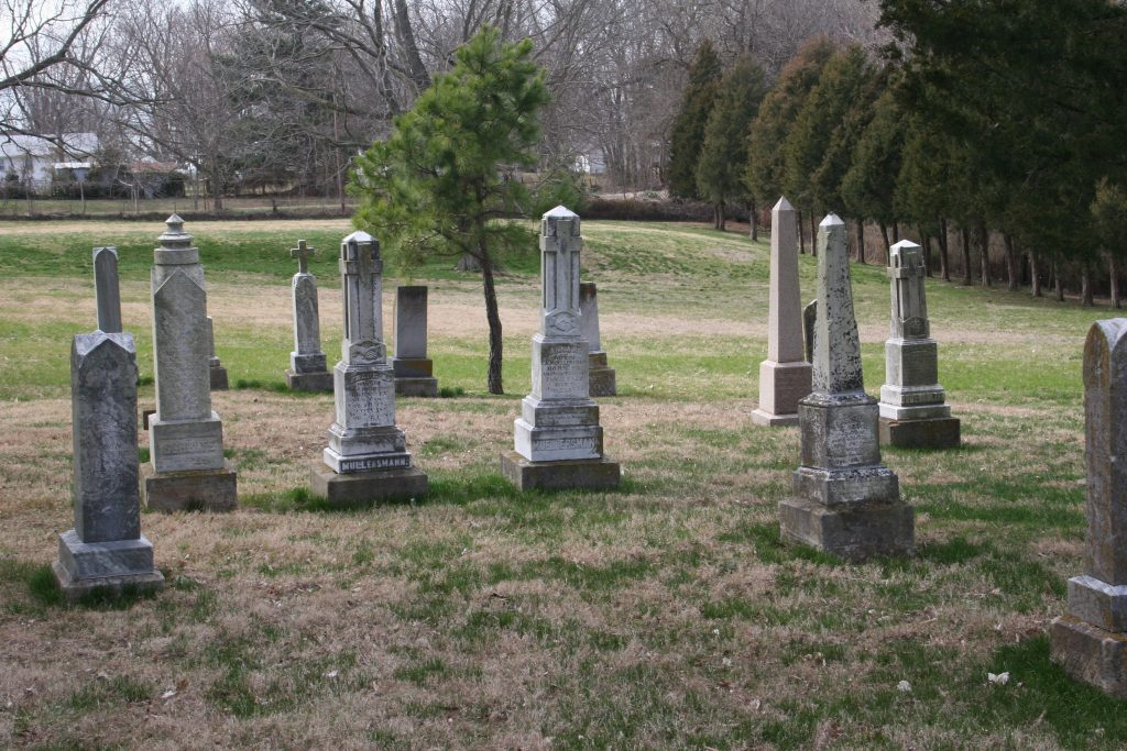 grave yard in Fredericktown a copy