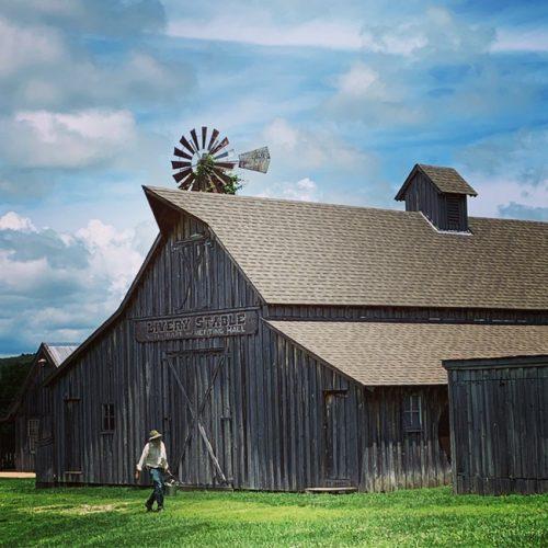 Baker Seed Pioneer Village barn