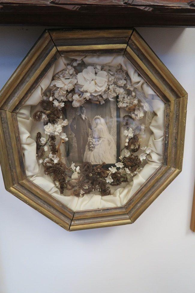 Hair wreath wedding Victorian