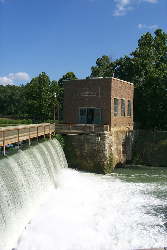 hydroelectric plant mammoth