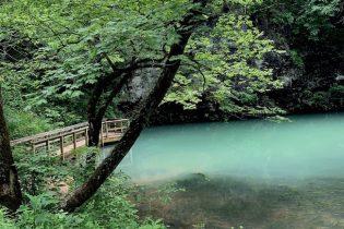 Blue Spring walkway