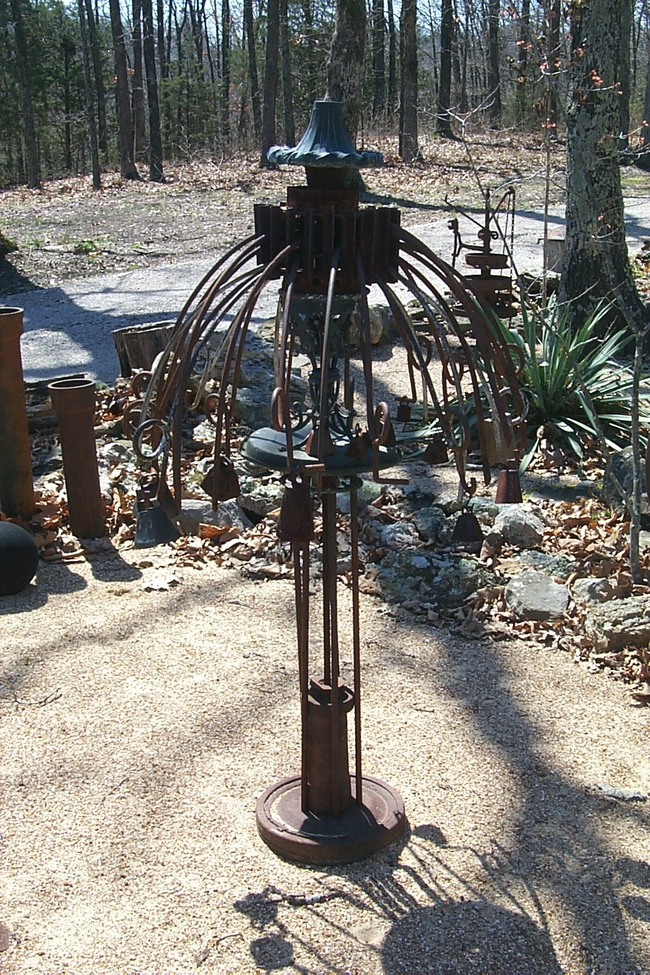 Sculpture garden piece by Mary Lou Corn
