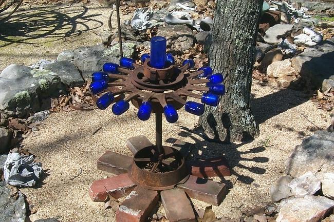 Mary Lou Corn sculpture garden