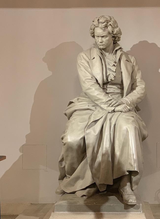beethoven statue Konzerthaus Vienna