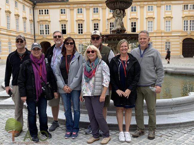 Friends Melk Abbey Austria