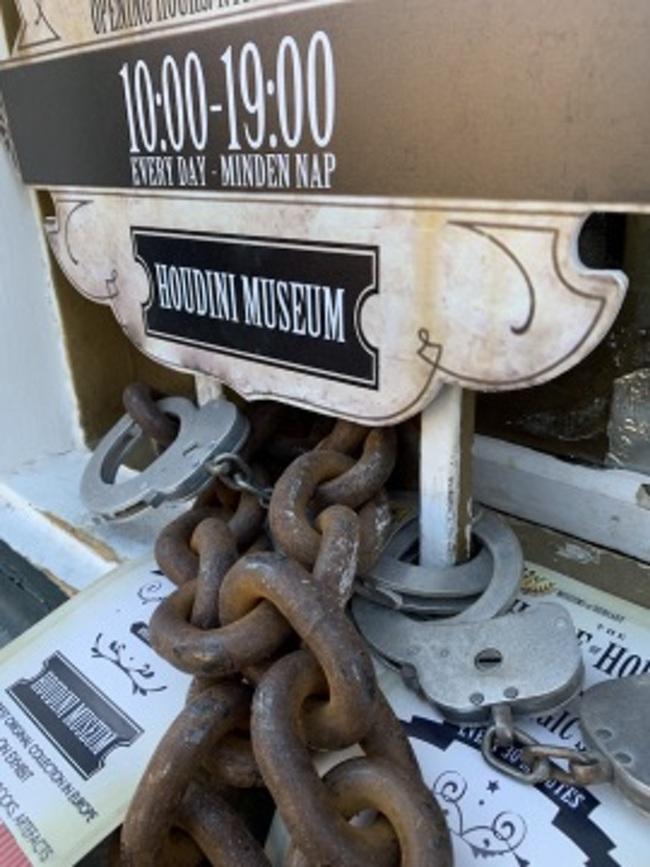 Houdini museum budapest