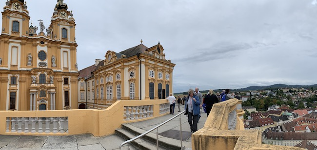 Melk Abbey from top