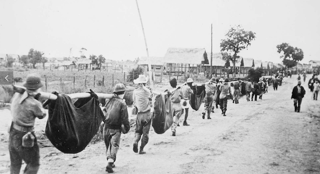 Bataan Death March NARA photo