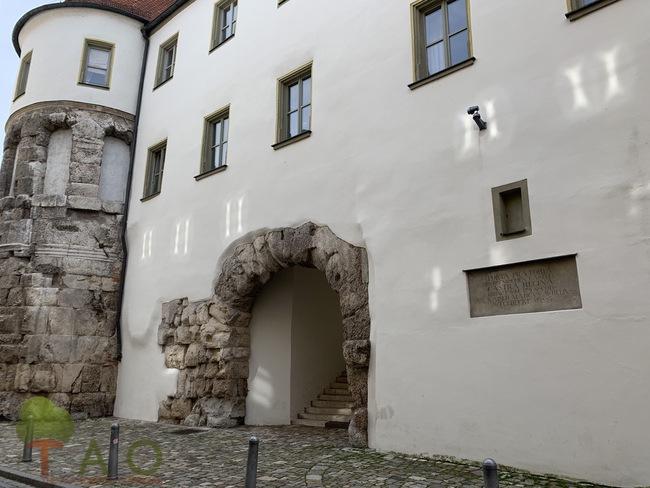 Roman influence Regensburg