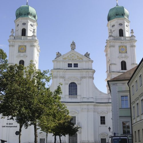 St Stephens Cathedral Passau