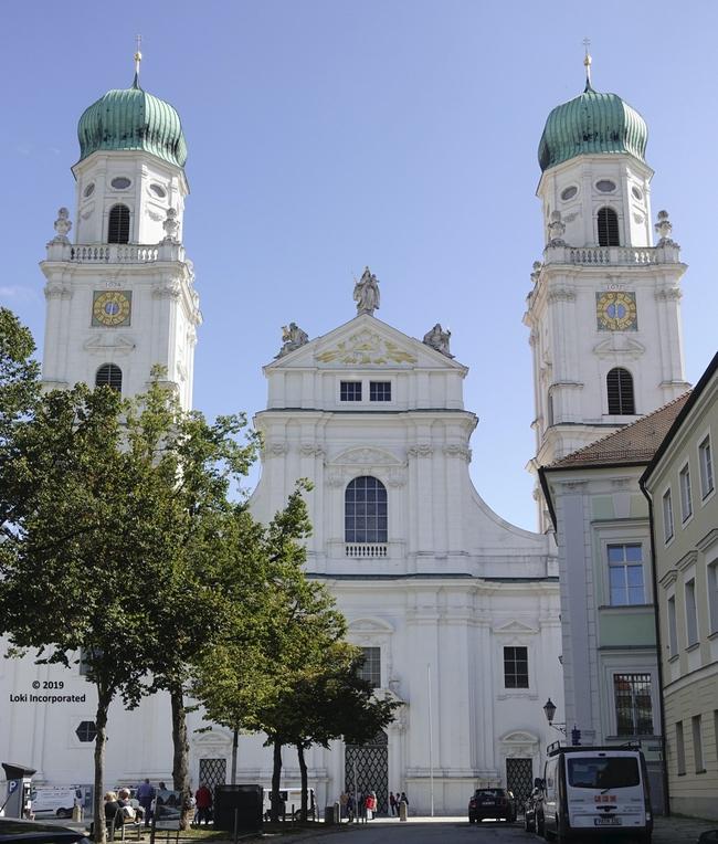 St Stephens Cathedral Passau
