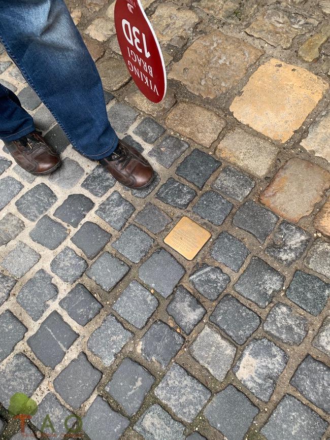 stumbling stone regensburg